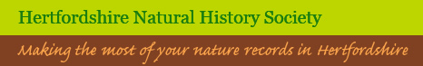 Hertfordshire Natural History Society ~ Making the most of your nature records in Herfordshire