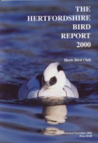 The Hertfordshire Bird Report 2000