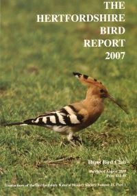 The Hertfordshire Bird Report 2007