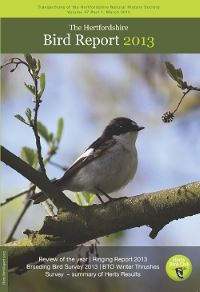 The Hertfordshire Bird Report 2013