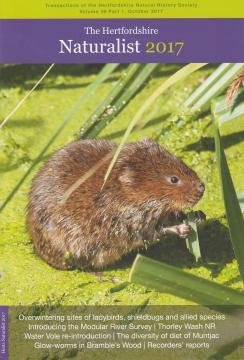 Hertfordshire Naturalist 2017 (cover)