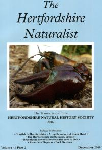 The Hertfordshire Naturalist 2009
